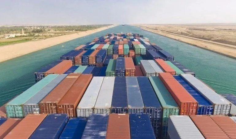 2M部分亚欧航线绕行好望角,取代通过苏伊士运河的传统航线